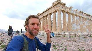 Exploring ATHENS, GREECE: Walking To The Acropolis