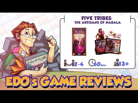 Edo's Five Tribes: The Artisans of Naqala Board Game Review
