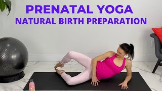 Pregnancy Yoga and Natural Birth Preparation Exercises