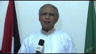 تصريح وزير الخارجية الصحراوري محمد سالم ولد  السالك Declaración del ministro de Exteriores Saharaui  OULD SALEK
