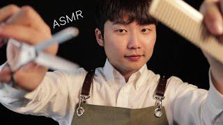 ASMR ✂do u want a HAIRCUT? come in!!!✂