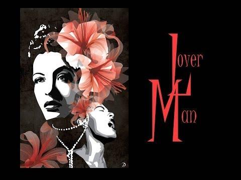 Billie Holiday - Lover Man (with lyrics)