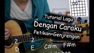 Belajar Gitar (Dengan Caraku   Arsy Widianto Ft Brisia Jodie)