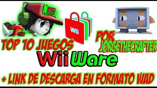 Top 10 Mejores Juegos Wii Ware+Link De Descarga[WAD 2016]