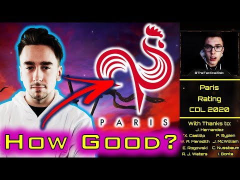Roster Rating: PARIS - Leftover Underdogs!?    CDL Rostermania News & Rumors    CoD: MW