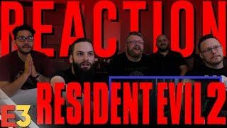 Resident Evil 2 E3 2018 REACTION!!