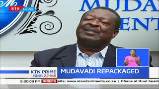 ANC leader Musalia Mudavadi declares that he will run for presidency come 2022