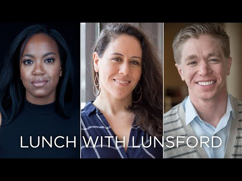 Whitney White, Taibi Magar, and Tyler Dobrowsky: Lunch with Lunsford Episode 3