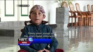 Seorang Bocah Mengabdikan Diri Menjadi Abdi di Keraton Yogyakarta - NET12