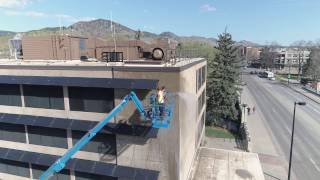 Top Gun's Commercial Cleaning: Office Building Exterior