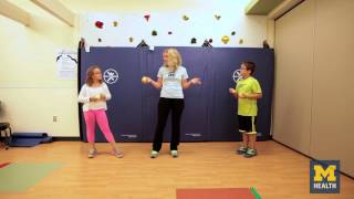 Exercises that improve your child's coordination