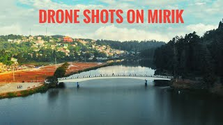 preview picture of video 'Drone shot in MIRIK | MISSINGEARS MOTOVLOGS'