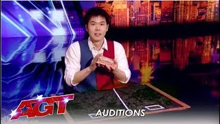 Eric Chien: The UNBELIVEABLE Card Magician (NOT Named Shin Lim!)   America's Got Talent 2019