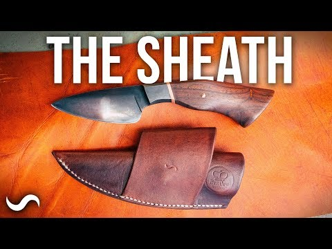 MAKING A LEATHER KNIFE SHEATH!!! Mp3