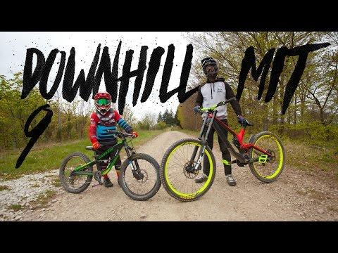 Downhill mit dem neunjährigen Johann Schumacher im Trailpark Mehring