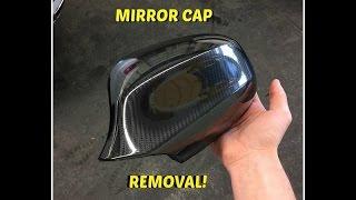 BMW Mirror cap removal!
