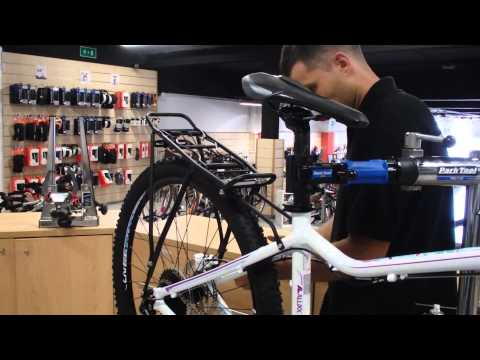 Instalar portaequipajes en una bici con frenos de disco
