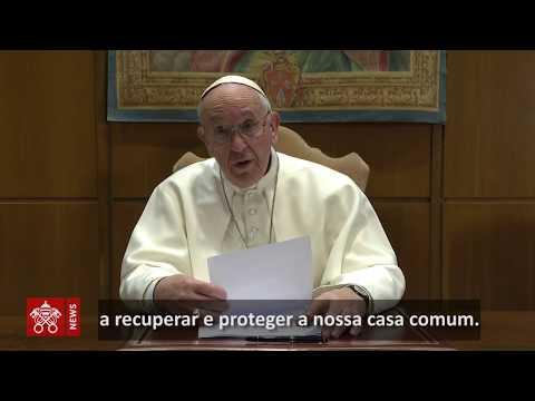 Papa Francisco lembrou do aniversário de um ano da tragédia de Brumadinho