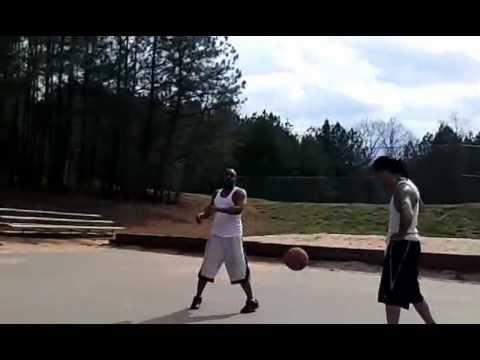 Buddyro schools Donski on the court