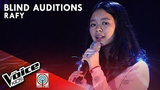 Kung 'Di Rin Lang Ikaw by Rafy Dacer | The Voice Kids Philippines Blind Auditions 2019