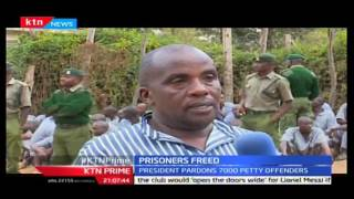 KTN Prime,Prisons bosses begin exercise of releasing prisoners after President's order,  20/10/2016