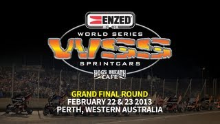 Sprint_Cars - Perth2013 WSS Round12 Race Full Race