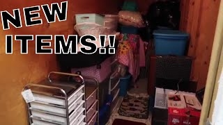 Storage Unit Bought in BAD Neighborhood FULL of NEW ITEMS!