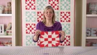 Sisters Choice Quilt Block Pattern - Classic & Vintage Series - Fat Quarter Shop