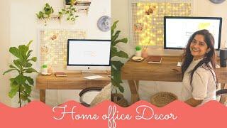 DIY Home Office Setup (Rental Friendly ) !! Interior Maata