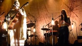 Ane Brun w. Nina Kinet - Worship - live x-tra Zurich 2013-10-26