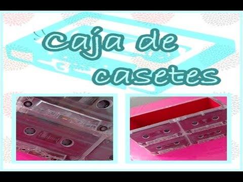 Cajita De Casetes / Box Cassettes -Caricositas-