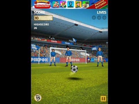 Flick Kick Football Kickoff iOS Gameplay