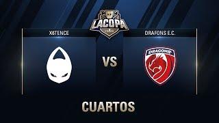 X6TENCE VS DRAGONS E.C.  - CUARTOS DE FINAL - MAPA 1 - #CopaCSGOCuartos