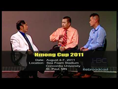 HBCTV Show -HBC interviews members of Hmong Cup 2011.