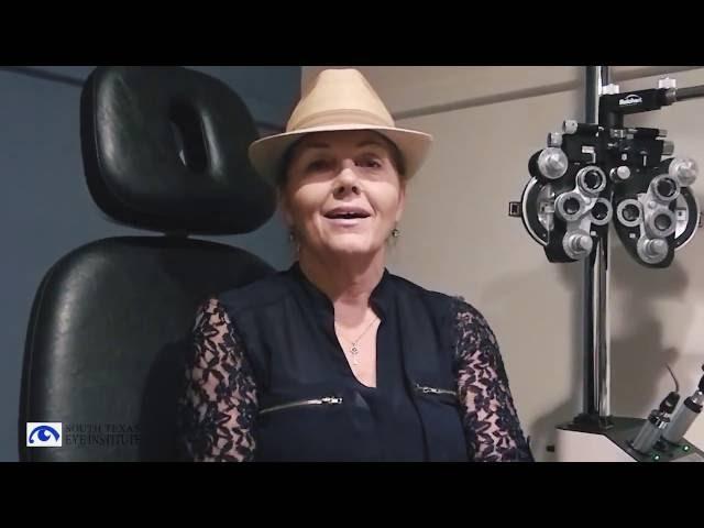 Kelly Had Lasik at South Texas Eye Institute