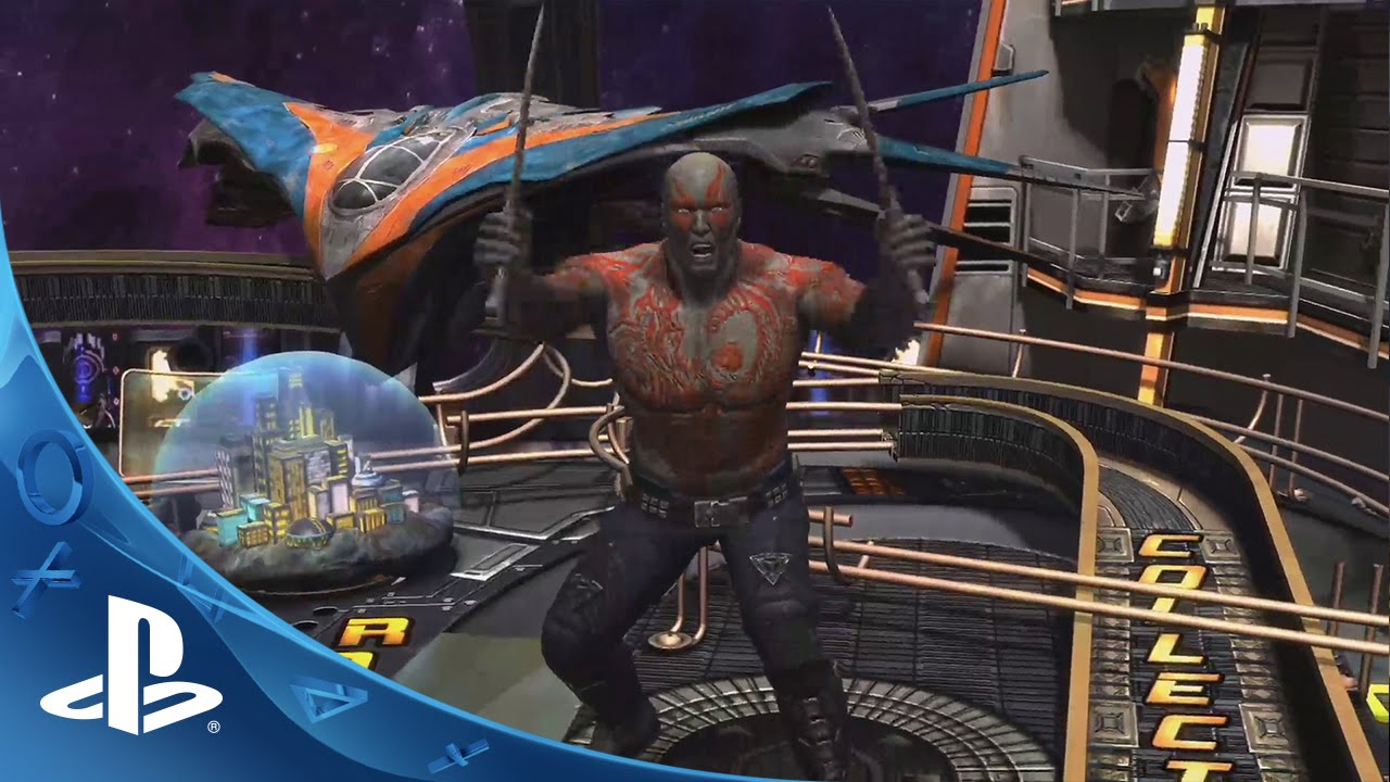 Marvel's Guardians of the Galaxy Coming to Zen Pinball 2 Next Week