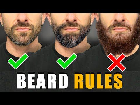 7 Beard Rules EVERY GUY SHOULD FOLLOW! (For a BETTER Beard)