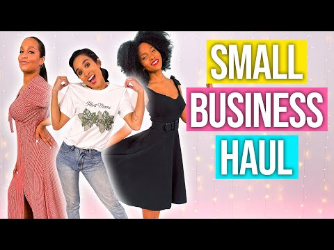 , title : '4 Fashion Brands You NEED to Know About! *shop small haul*