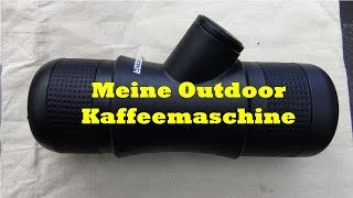 Meine - Outdoor -  Kaffeemaschine