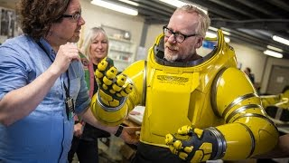 Adam Savage Puts On Alien: Covenant's Spacesuit!