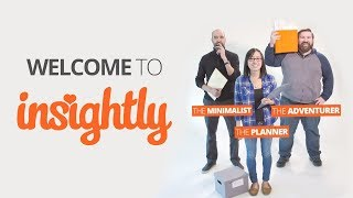 Welcome to Insightly
