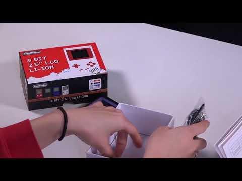 Consola de Videojuegos Portátil de Bolsillo 2.2in LCD 8 bits Mini  129 Juegos / VideoGame Portátil