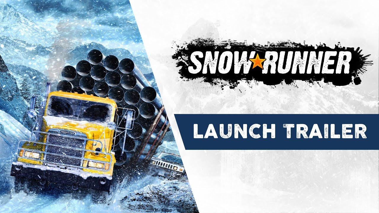 Премьерный трейлер игры SnowRunner