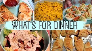 WHAT'S FOR DINNER / COMFORT FOOD / EASY AND QUICK DINNERS