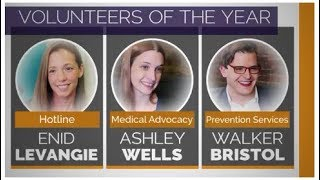 BARCC Volunteers of the Year 2017