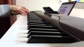 Cliché love song - Basim, piano cover. Denmark's 2014 eurovision song! (Sheet music available!