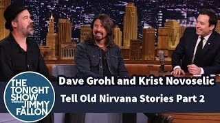 Dave Grohl and Krist Novoselic Tell Old Nirvana Stories - Part 2
