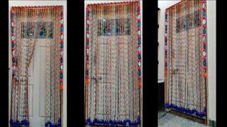 Deepavali Special Door Decoration Long Toran Idea AWASOME DOOR LONG HANGING TORAN RESMI THRUD