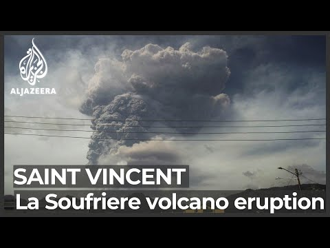 Saint Vincent awaits more volcanic eruptions as help offered