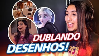BIBI DUBLANDO DESENHOS (ICARLY, PETS, FROZEN) - Video Youtube